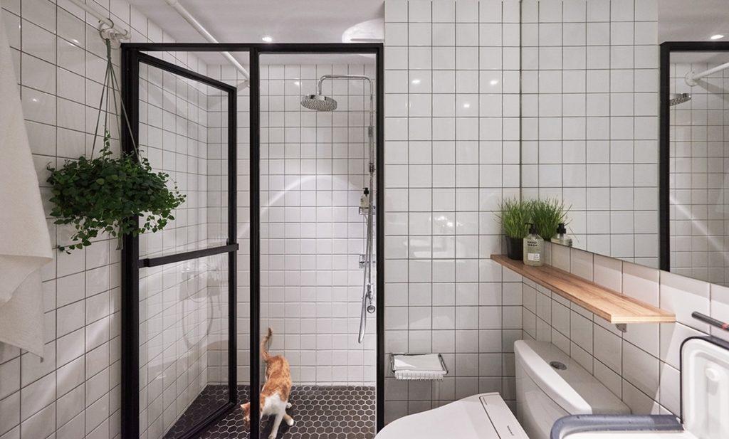 Donkere badkamer groener maken