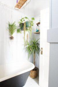 badkamer vergroenen met bamboo